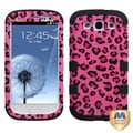 BasAcc Pink/ Black TUFF Case for Samsung Galaxy S III/ S3 i9300