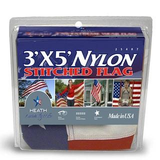 Nylon Outdoor U.S. Flag (3' x 5')