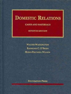 Domestic Relations: Cases and Materials (Hardcover)