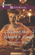 Rumors That Ruined a Lady (Paperback)