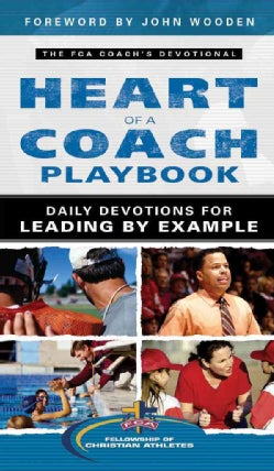 Heart of a Coach Playbook: Daily Devotions for Leading by Example (Paperback)