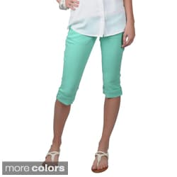 Hailey Jeans Co. Juniors Stretch Skinny Capris