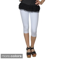 Journee Collection Juniors Five-Pocket Skinny Stretchy Capris