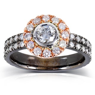 14k Gold 1 1/8 ct TDW Diamond Ring (G-H, I1-I2)