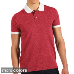 Alternative Apparel Men's Eco Jersey Feeder Stripe Polo