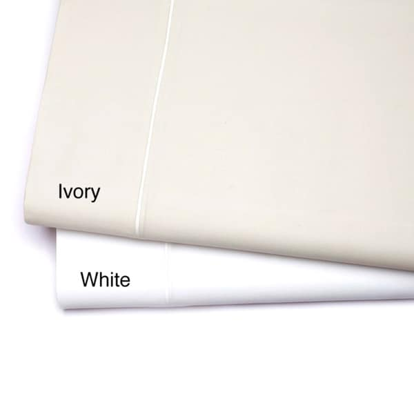 800 Thread Count Single-ply Solid Sateen Sheet Set