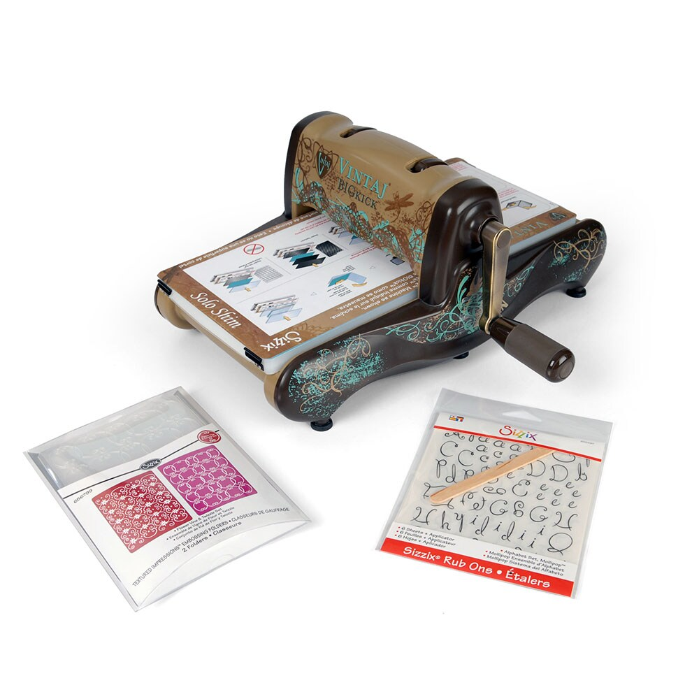 SIZZIX BY ELLISON Exclusive Vintaj Edition BigKick Machine Bundle at Sears.com