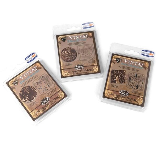 Sizzix DecoEtch/ DecoEmboss Vintaj Value Kit #8