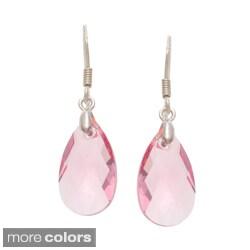 La Preciosa Silver Crystal Earrings Made with SWAROVSKI Elements