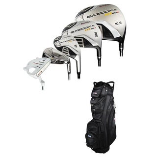 Tour Edge Bazooka HT Max D Right Hand Golf Club and Bag Set