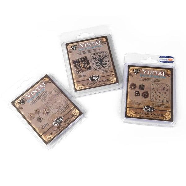 Sizzix DecoEtch/ DecoEmboss Vintaj Value Kit #4