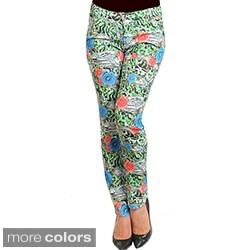 Stanzino Women's Multi-print Skinny Pants