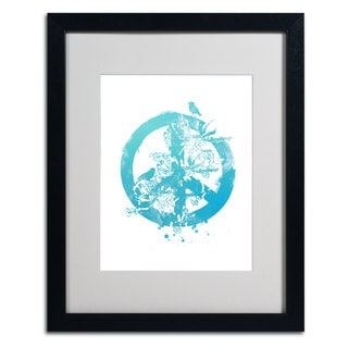 Budi Satria Kwan 'Peace' Vertical Framed Mattted Art