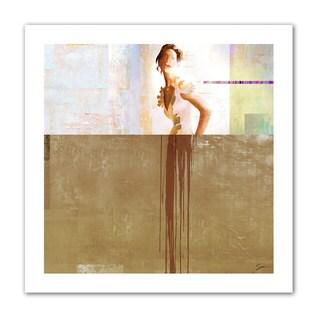 Greg Simanson 'Dissolve III' Unwrapped Canvas