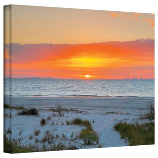 Steven Ainsworth 'Sanibel Sunrise IV' Gallery-Wrapped Canvas