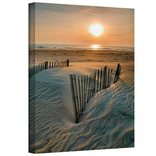 Steven Ainsworth 'Sunrise Over Hatteras' Gallery-Wrapped Canvas
