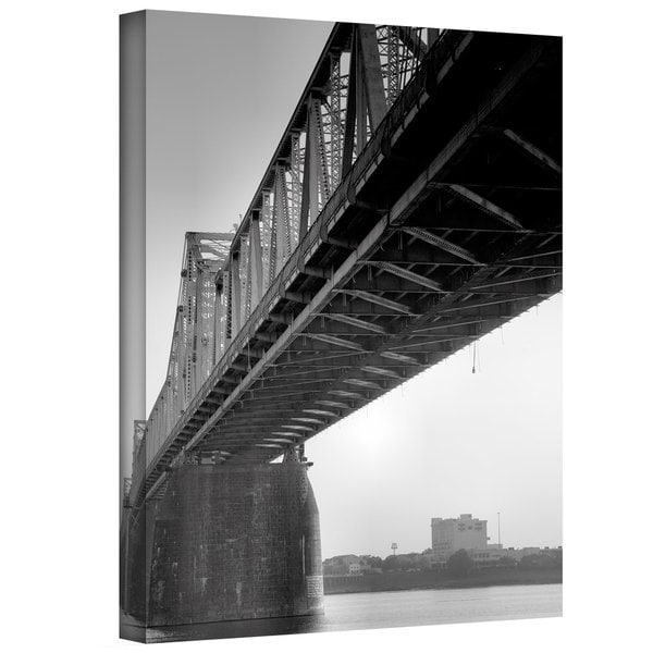 Steven Ainsworth 'Under the Bridge' Gallery-Wrapped Canvas