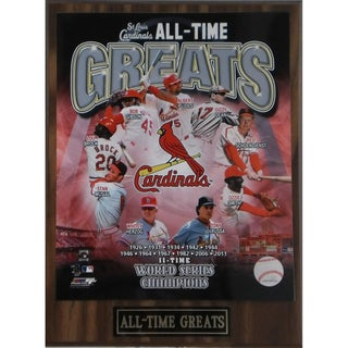 St. Louis Cardinals 'All Time Greats' Plaque