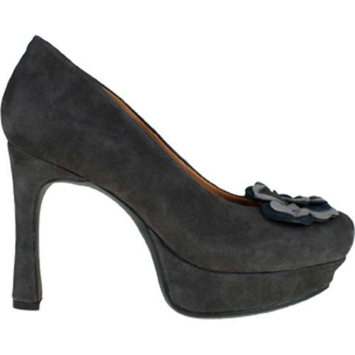 Women's Earthies Monza Dark Grey Kid Suede