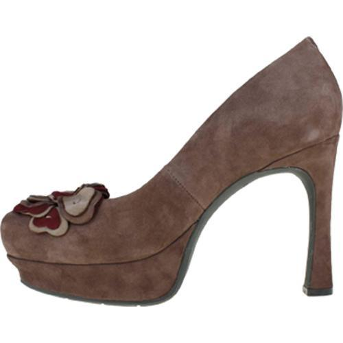 Women's Earthies Monza Dark Taupe Kid Suede