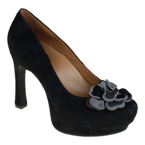 Women's Earthies Monza Black Kid Suede