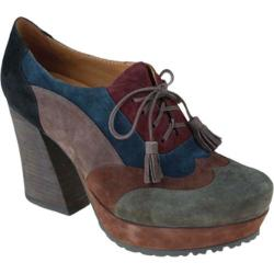 Women's Earthies Skellig Olive Multi Kid Suede
