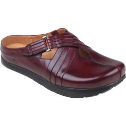 Women's Kalso Earth Shoe Fawn Merlot Premium Calf