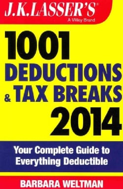 J.K. Lasser's 1001 Deductions and Tax Breaks 2014 (Paperback)