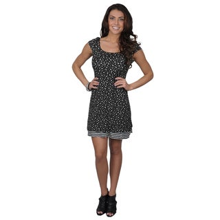 Sangria Women's Reversible Cap Sleeve Dress