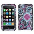 BasAcc Bubble Diamante Case for Apple iPhone 3G/ 3GS