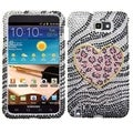 BasAcc Leopard Diamante Case for Samsung I717/ Galaxy Note T879
