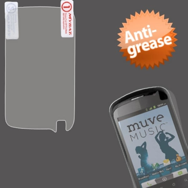 INSTEN Anti-grease Screen Protector for ZTE X501 Groove