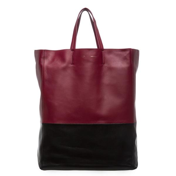 celine bag for less - Celine 'Bi-Cabas' 2-tone Tote Bag - 15374359 - Overstock.com ...