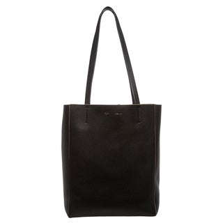 Celine Pebbled-leather Tote Bag