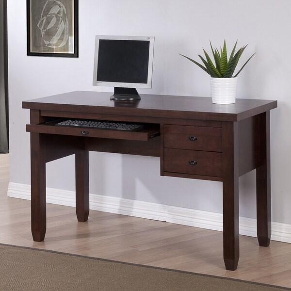 Navigator Dark Brown Computer Desk 80004996 Overstock