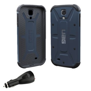 UAG Samsung Galaxy S4/SIV Aero Blue Case with NFC Tag & Car Charger