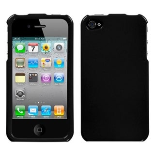 BasAcc Black Case for Apple iPhone 4/ 4S