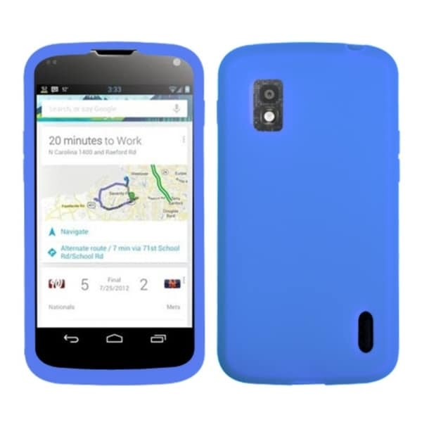 BasAcc Dark Blue Case for LG E960 Nexus 4