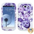 BasAcc Hibiscus/ White TUFF Hybrid Case for