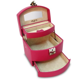Morelle Laura Expandable Leather Jewelry Box