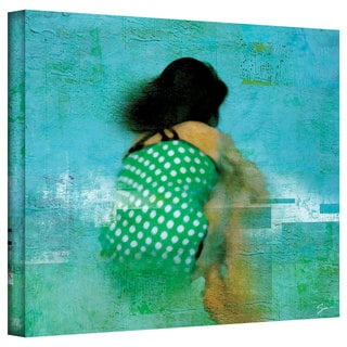 Greg Simanson 'Floating Away' Gallery-Wrapped Canvas