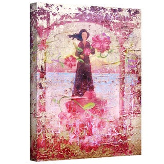 Greg Simanson 'Flower Happy' Gallery-Wrapped Canvas