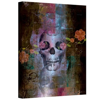 Greg Simanson 'Skull' Gallery-Wrapped Canvas