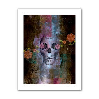 Greg Simanson 'Skull' Unwrapped Canvas