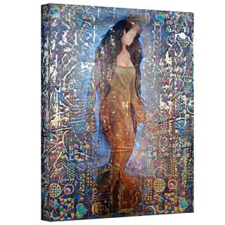 Greg Simanson 'Stained Interlude' Gallery-Wrapped Canvas