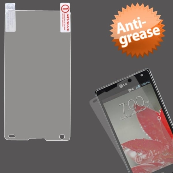 INSTEN Anti-grease LCD Screen Protector for LG LS970 Optimus G