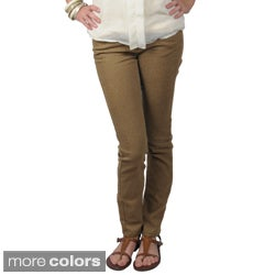 Journee Collection Junior's Five-Pocket Stretchy Skinny Pants