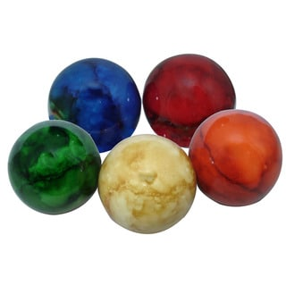 Set of 5 Decorative Shaker Balls (Indonesia)
