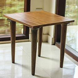 Teakwood 'Keraton' End Table (Indonesia)