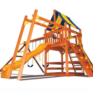 Superior Play Systems Original Fort Swing Set